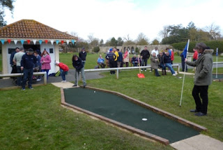 Photo of Minigolf being played at Splash Point Mini Golf course in Worthing