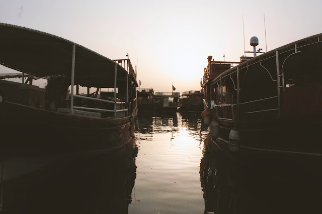 boats in Doha