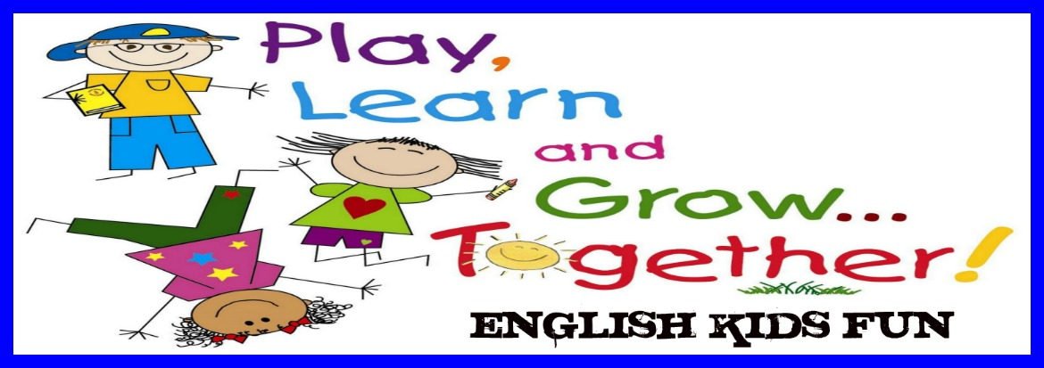 English Kids Fun Parts Of A Friendly Letter