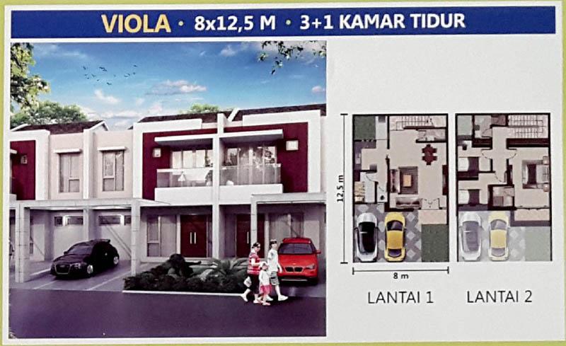 Tipe Viola @ PIK 2 Jakarta