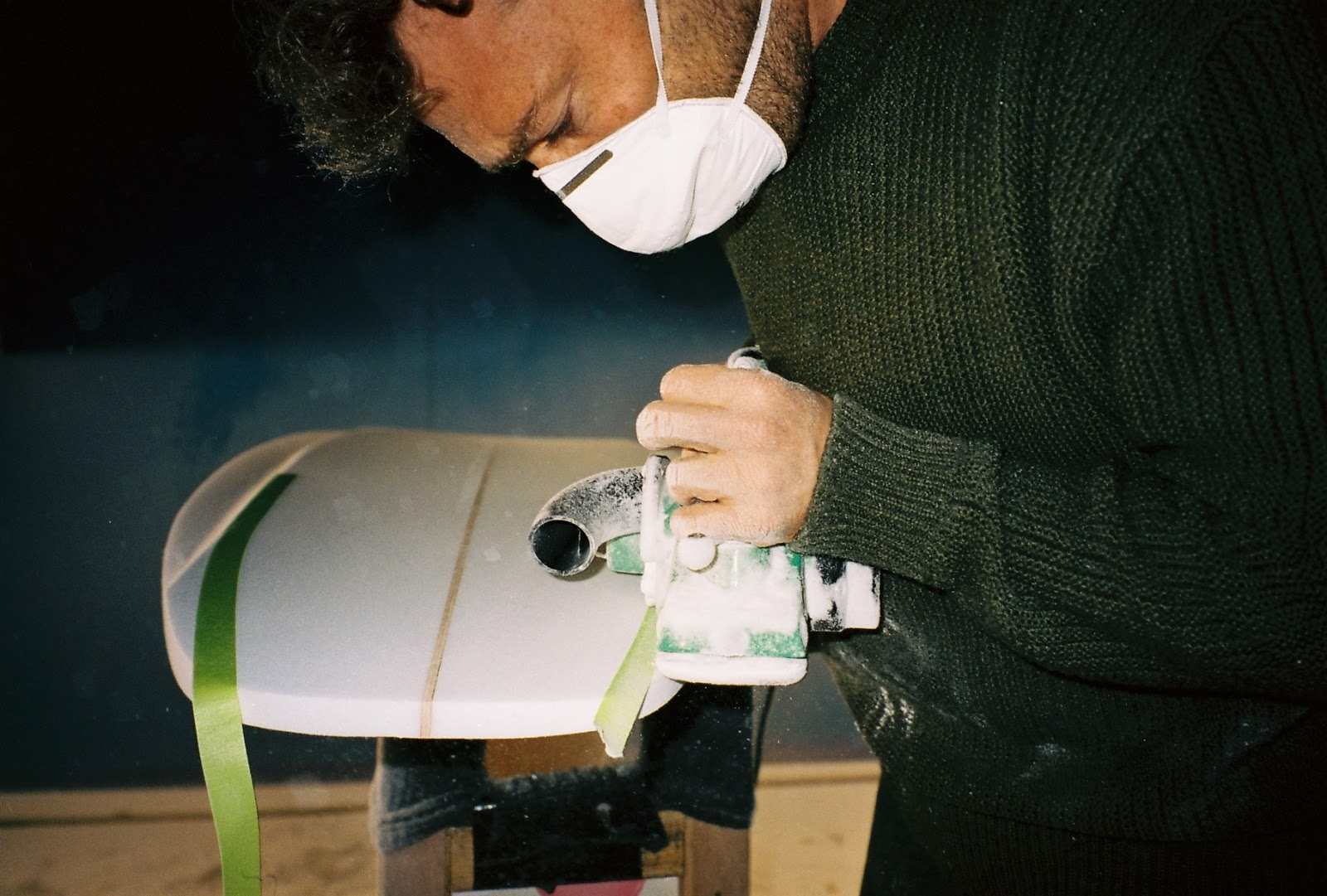 Vincent Lemanceau, shaper at Surfin Estate - hossegor