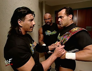 WWE / WWF Wrestlemania 2000 - The Radicalz backstage