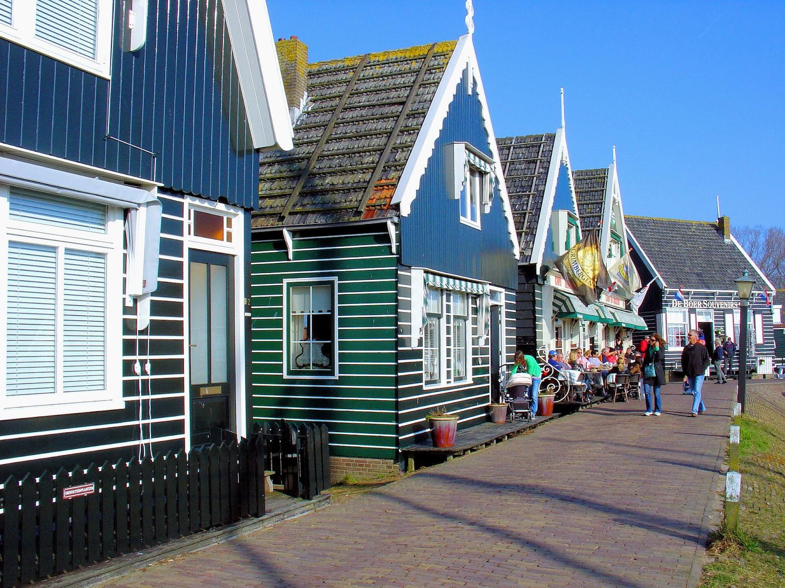 The Splendor of the Seaside Village of Marken in The ... Quaint Village