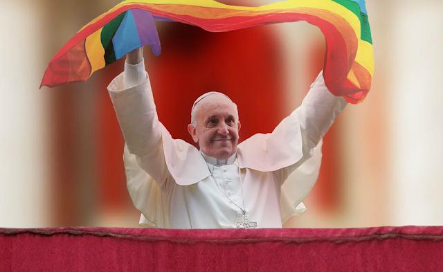 """PAPA DIZ QUE """"CRISTÃOS DEVEM PEDIR PERDÃO A GAYS"""""""