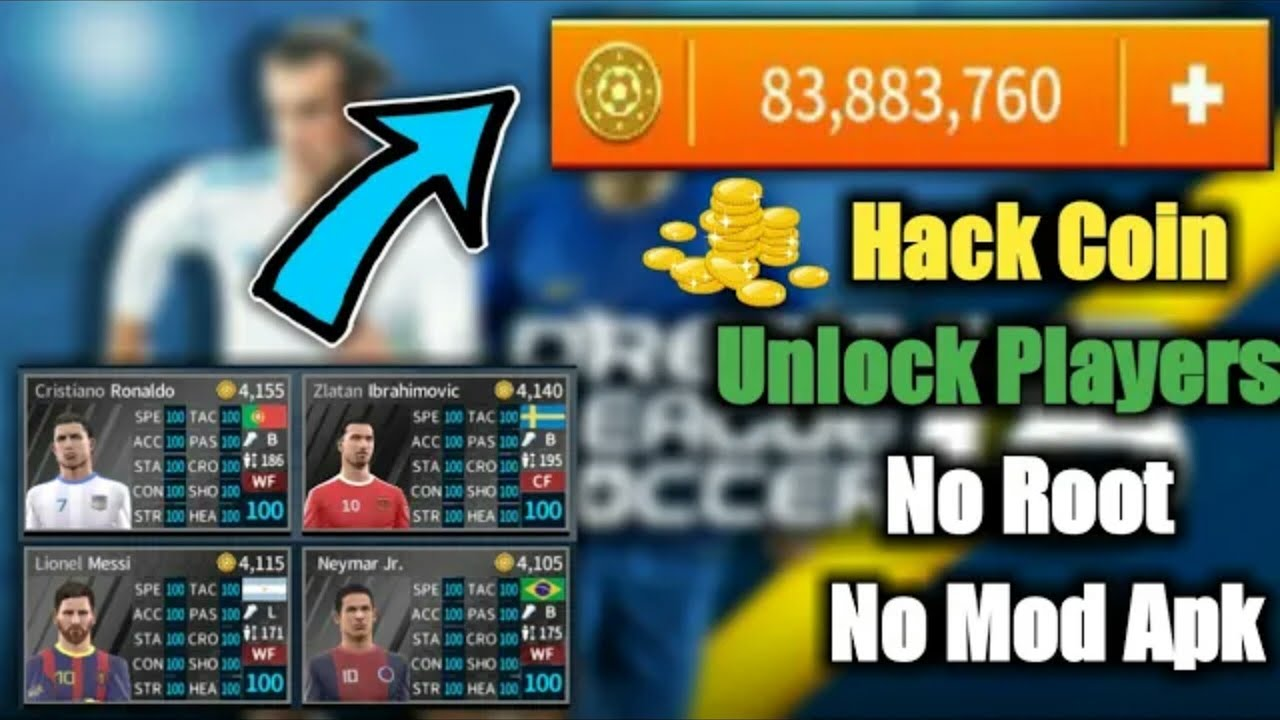 Get Unlimited Coins In Dream League Soccer 2019