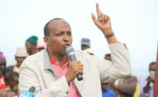 The majority leader Adan Duale answering MPs who asked about Voter registration extension. PHOTO | BANA