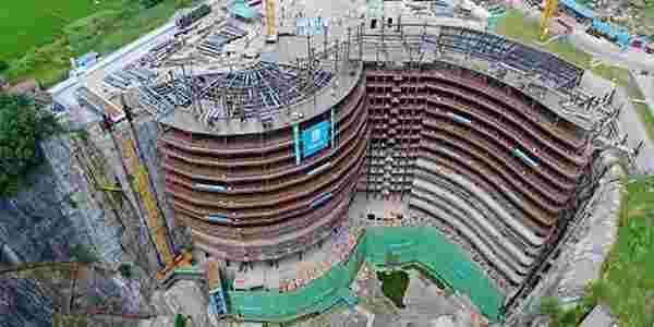 بالصور اكبر فندق تحت الارض