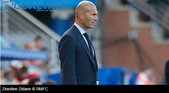 "alt=""Zidane insisted that it was only a matter of time before Cristiano Ronaldo and Karim Benzema"""