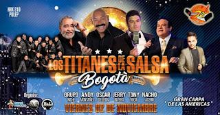 TITANES DE LA SALSA 2018 Bogotá