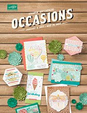 Stampin' Up! Occasions 2017 Catalog