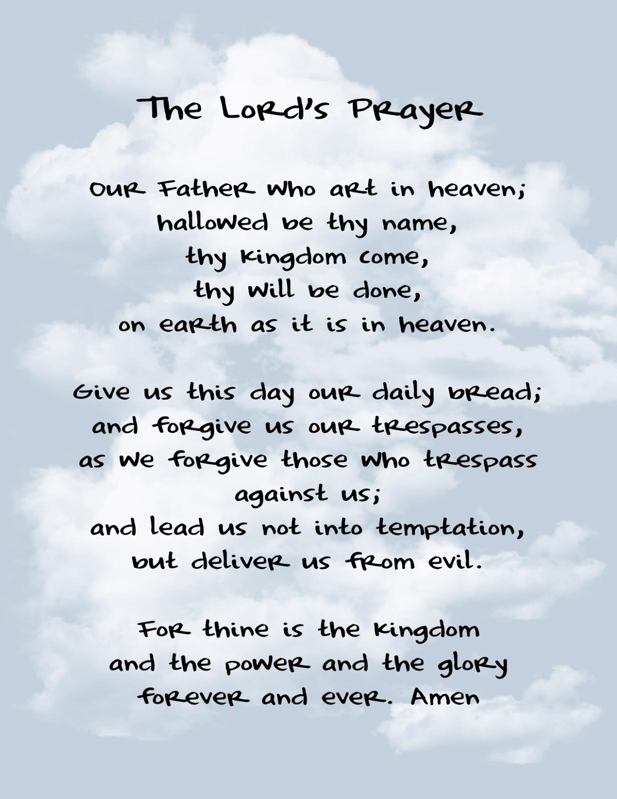 Beads Of Joy By Rosarymanjim The Lord S Prayer