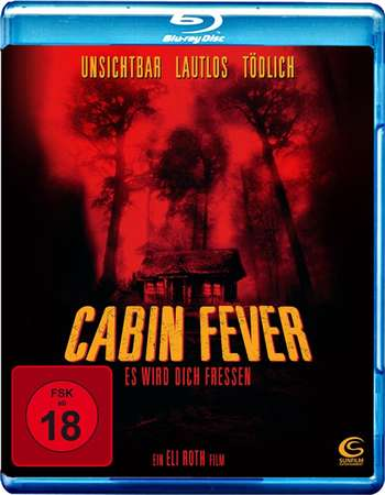 Poster Of Cabin Fever 2002 Dual Audio 720p BRRip [Hindi - English] Free Download Watch Online