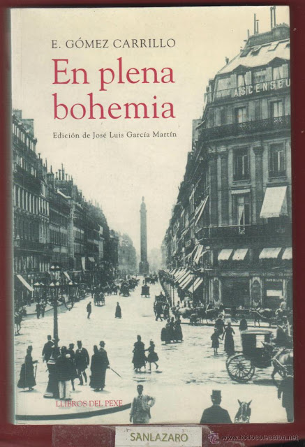 Portada de en plena Bohemia Enrique Gomez Carrillo
