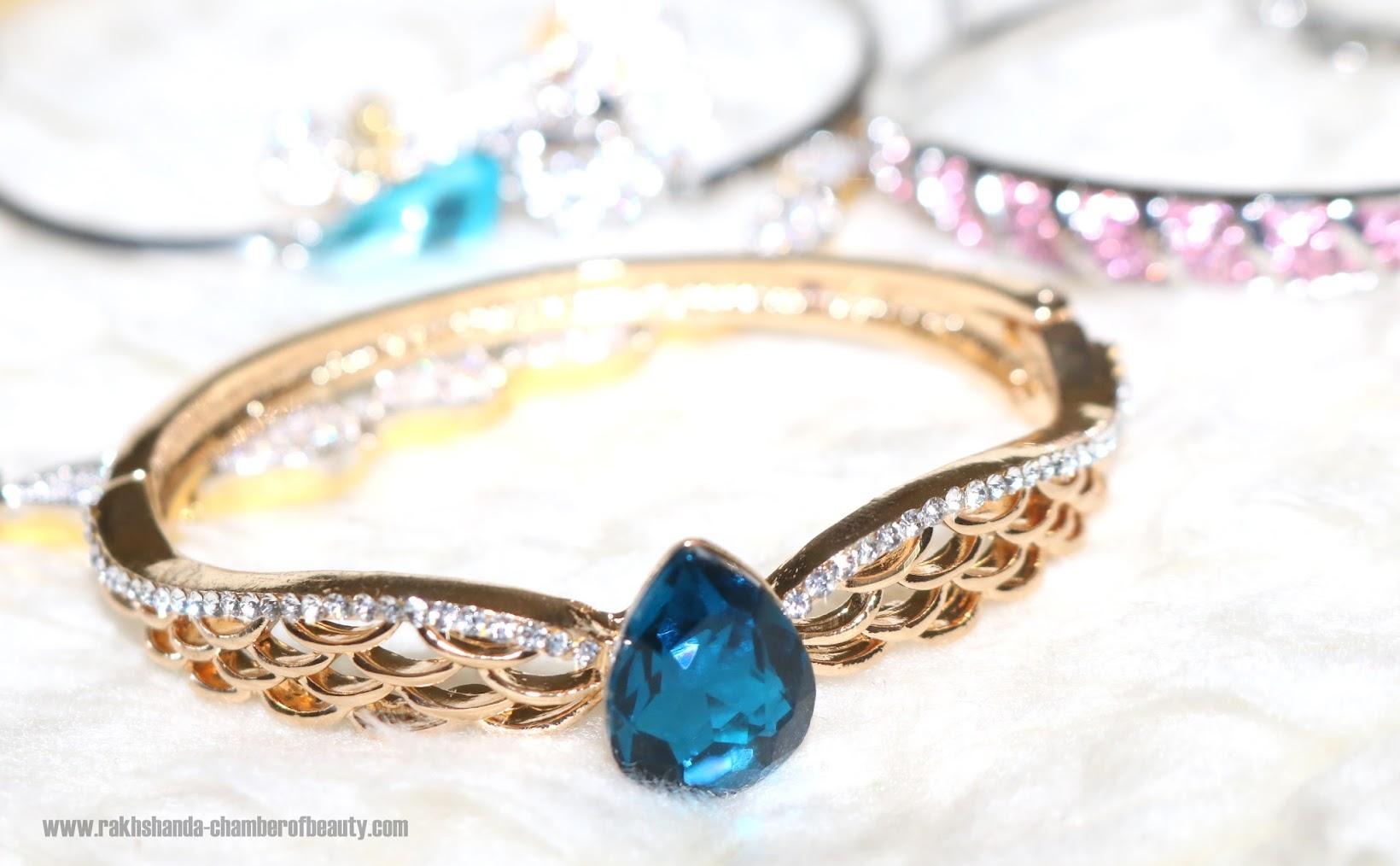 YouBella Jewelry haul, Indian fashion blogger, Chamber of Beauty
