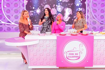 Eliana, Sylvia, Pink e Andreia (Crédito: Gabriel Cardoso/SBT)