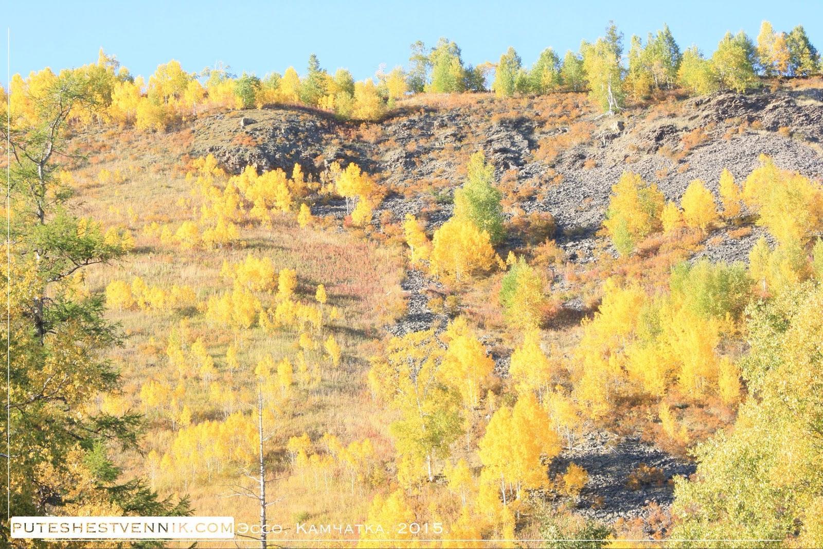 Осенняя природа Камчатки