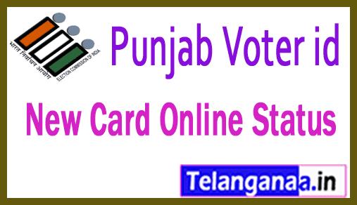 Punjab Voter id Card Online