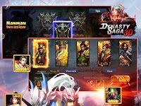 Download Game Dynasty saga 3D: Three kingdoms APK v1.5.5 MOD Terbaru 2016