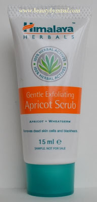 Himalaya Gentle Exfoliating Apricot Scrub review