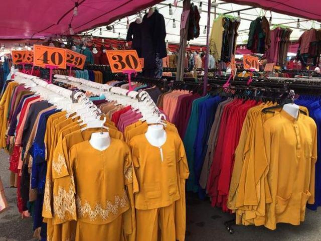 Borong Baju Raya Murah di Pesta Konvo UTM