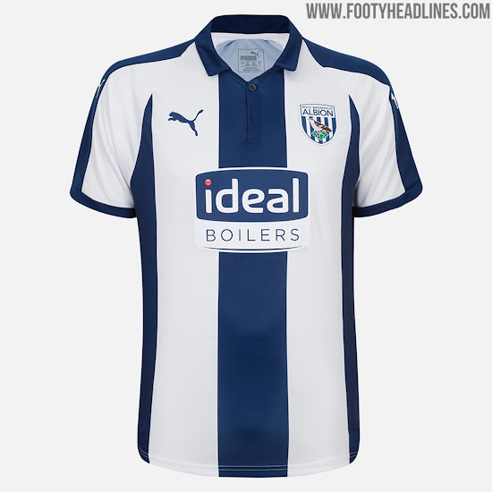 No More Adidas Puma West Bromwich Albion 18 19 Home Kit Released Footy Headlines