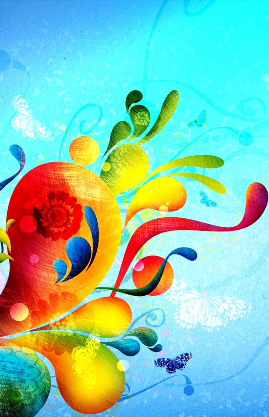 Colorful Abstract Art Hd Wallpapers Wallpapers Screen