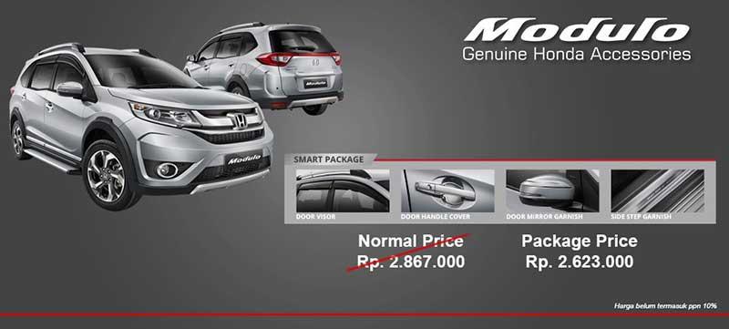 Harga Aksesoris Honda BRV Bandung