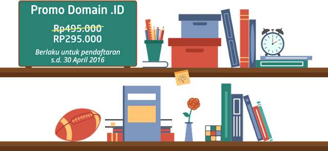 Promo domain .id bulan april 2016