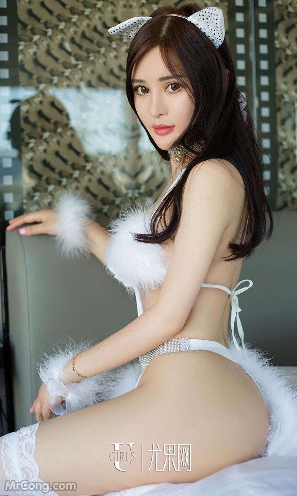 UGIRLS – Ai You Wu App No.718: Người mẫu Xin Ran (欣然) (40 ảnh)
