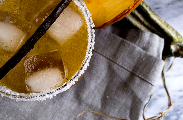 Spiced Pumpkin Shrub