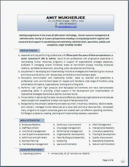 Best Resume Formats and Examples - Job Interview Career.
