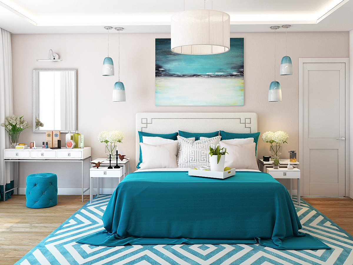 Unique Turquoise Bedroom Furniture Designs  Home Decor