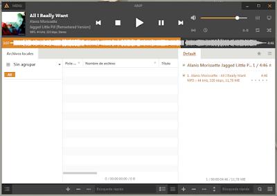 Uno de los mejores reproductores de audio para Windows
