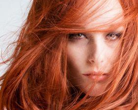 Kızıl bayanlar için makyaj önerileri