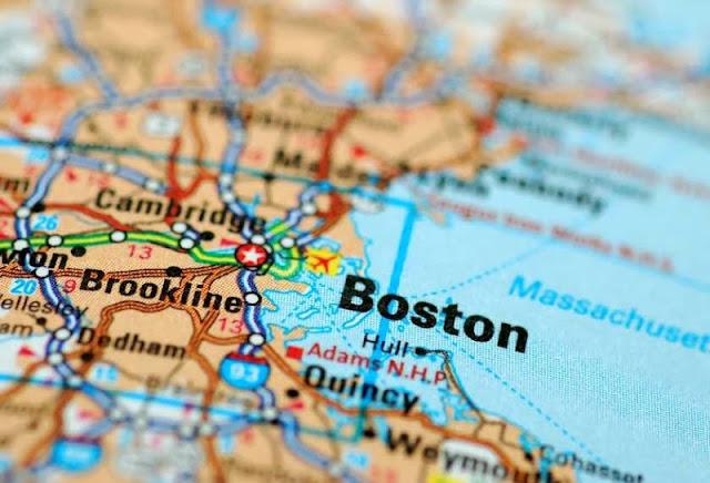 10 cosas que hacer en Boston mapa
