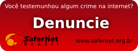 DENUNCIE CRIMES NA INTERNET