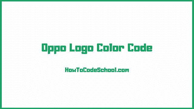 Oppo Logo Color Code