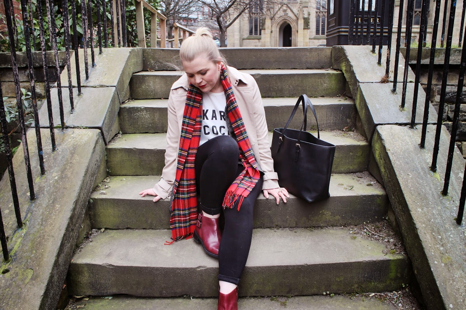 Tartan, Macs and Ankle Boots