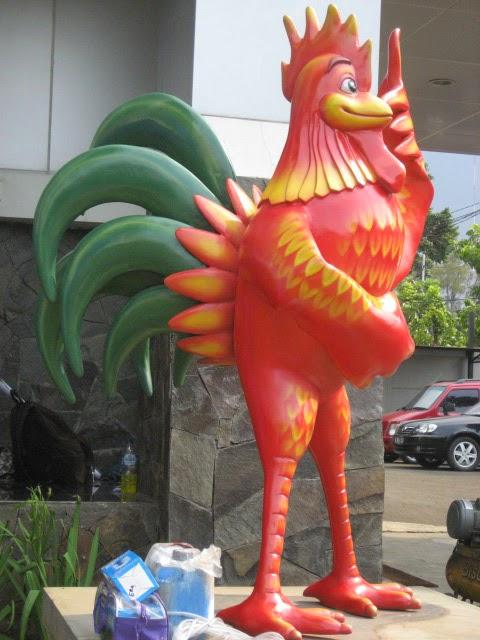 Jasa Patung Binatang fiberglass 7