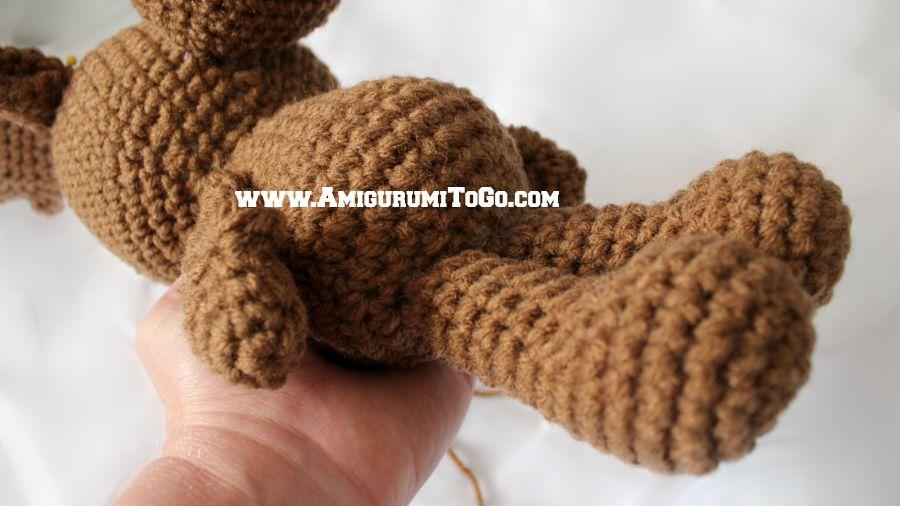 Amigurumitogo Moose : Little bigfoot moose amigurumi to go