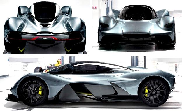 AM-RB 001 automóvil super rápido Aston Martin sides front