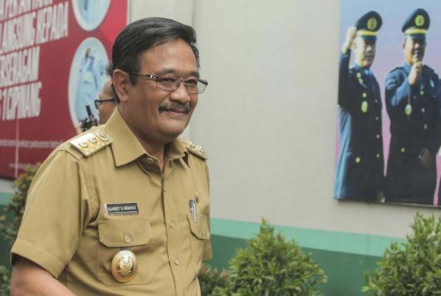 Djarot Resmi Jadi Plt Gubernur DKI Gantikan Ahok
