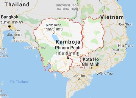Batas Wilayah Negara Kamboja