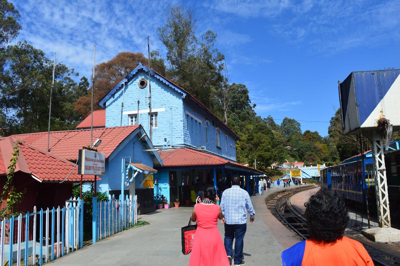 coonoor;railway station;shiv sangal;travel;blogger