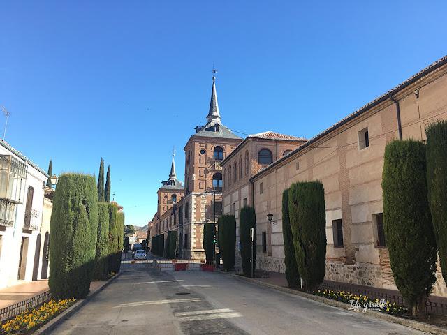 Vista de la Calle Colegios