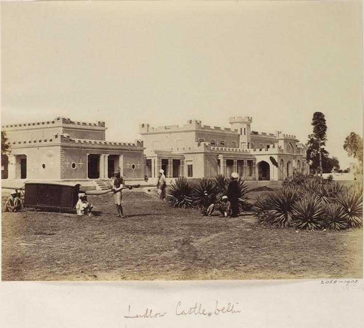 Ludlow Castle - Delhi, 1858