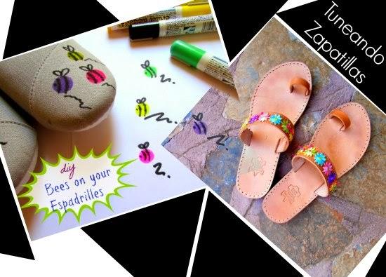 zapatos, tunear, diys, tutoriales, transformar, customizar, pintar, costura