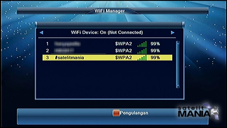 Cara Menghubungkan Hotspot HP ke Receiver