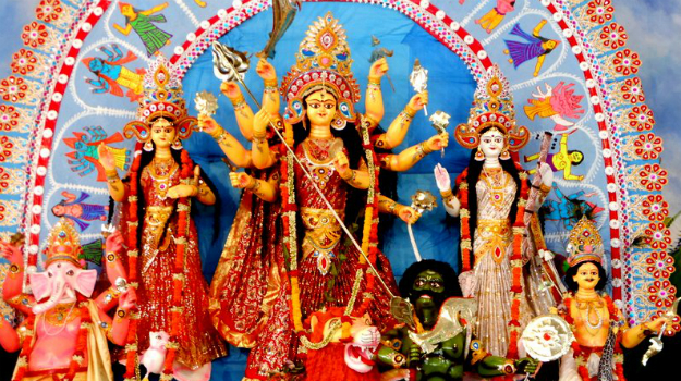 Bengali Terrorist Durga killing lower caste Mahishasura