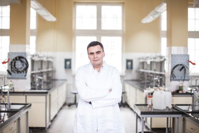 Prof. Marcin Drąg - fot. Bartek Sadowski